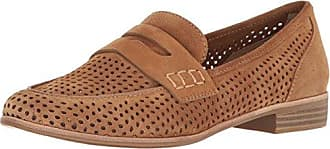 G.H. Bass & Co. Womens Ellie Penny Loafer, Camel, 8 M US