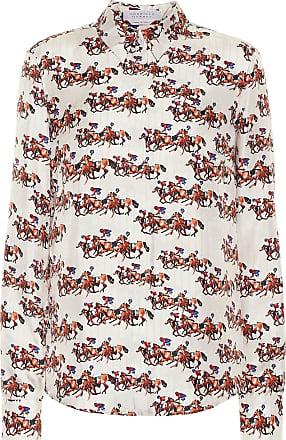 Gabriela Hearst Cruz printed wool and silk shirt