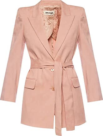 Zadig & Voltaire Blazer With Peaked Lapels Womens Pink