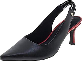 Ramarim Sapato Feminino Chanel Preto Ramarim - 1885201