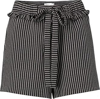 YaYa Jacquard Shorts mit Rüschen - 40