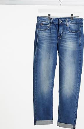 G-Star Kate - Boyfriend-Jeans in dunkelblauer Waschung