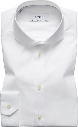 Eton Businesshemd mit Haifischkragen, Super Slim von Eton in Weiss für Herren