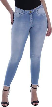 Osmoze Calça Jeans Osmoze Skinny Azul 38