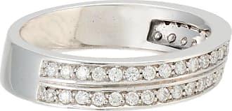 Jack Vartanian Anel Deco com diamantes - Prateado