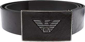 Emporio Armani Belts On Sale, Black, Leather, 2019, 46 (75 - 85 cm)