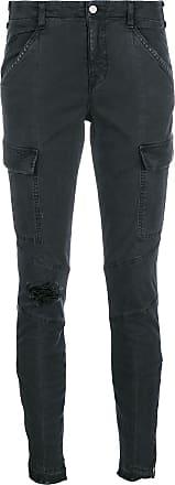 J Brand Calça jeans cargo skinny - Cinza