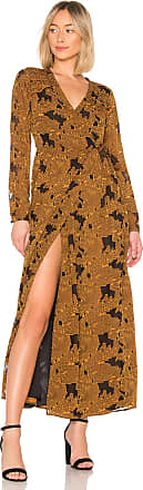 House Of Harlow x REVOLVE Margareta Dress in Mustard