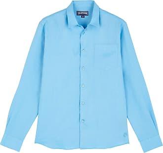 Vilebrequin Men Linen Shirt Solid - Jaipuy - XL