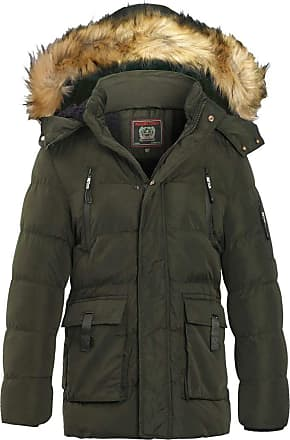 SS7 New Boys Padded Parka Hooded Coat Ages 7-13 Years Navy