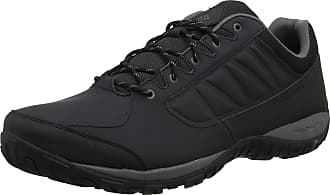 Columbia Mens RUCKEL Ridge Hiking Shoes, Black (Black, City Gre), 10.5 UK 44.5 EU