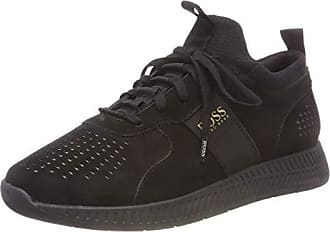 041eee37f4 HUGO BOSS Titanium_Runn_lux, Sneakers Basses Homme, Noir (Black 001), 43 EU