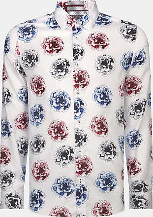 Ted Baker Baumwollhemd Mit Blumen-print