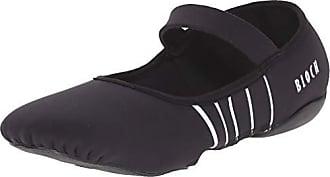 Bloch Womens Contour Microfiber Front-Sole Pilates//Yoga//Barre Studio Athletic Shoe