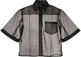 Toga Archives Camisa translúcida - Preto