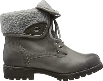 Jana Womens 8-8-26216-23 Ankle Boots, Grey (Stone 231), 6 UK