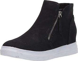 Yoki Womens DEMIAN-48 Sneaker, Black, 5.5 UK