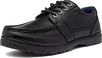 US Brass Mens Black Lace Up Smart Shoe - Size 12 UK - Black
