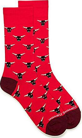 Unsimply Stitched Bull head socks
