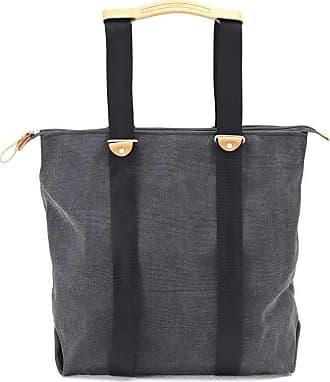 Qwstion Simple Zipshopper Rucksack-Tasche anthrazit