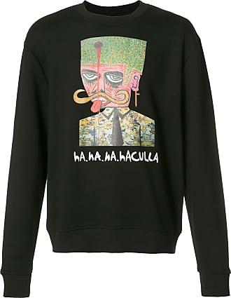 Haculla logo print sweatshirt - Black