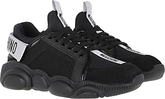 Moschino Sneakers - Orso Sneaker Mix Black - black - Sneakers for ladies