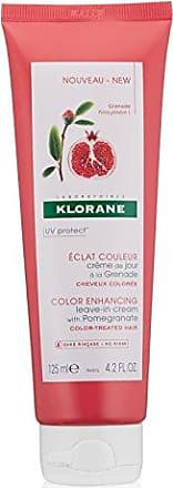 Klorane Leave-in Cream with Pomegranate - Color-Treated Hair, 4.22 fl. oz