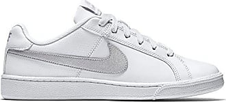 new arrival 367e4 1adcc Nike Court Royale, Baskets Femme, Blanc (White Metallic Silver 100),