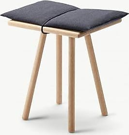 Skagerak Oak Georg Stool - Wood/Grey