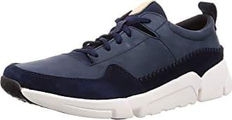 Clarks Herren Triactive Run Sneaker, grün, 41 EU