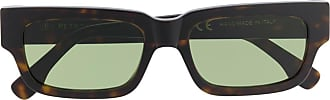 Retro Superfuture rectangular frame sunglasses - Brown