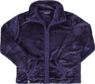Heat Holders Ladies 1.7 tog Thermal Winter Warm Heat Holders Snugover Luxury Fleece Jumper (L/XL, Purple)