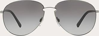 Valentino Valentino Occhiali Aviator Frame Metal Sunglasses Man Grey Metal 100% OneSize