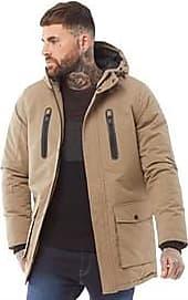 Brave Soul hooded parka jacket