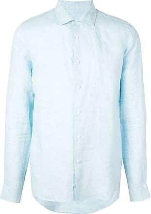 Orlebar Brown Camisa de linho - Azul