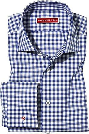 Franken & Cie. Shirt French cuff, Vichy blue
