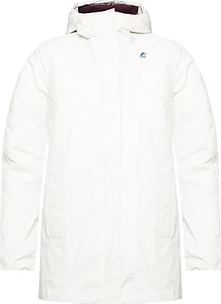 K-Way Branded Down Jacket Womens White