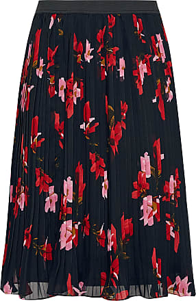 Yours Clothing Clothing Womens Floral Midi Skirt Size 16 Black