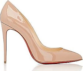 562fb7f1b18e Christian Louboutin Womens Pigalle Follies Patent Leather Pumps - Nude Size  10