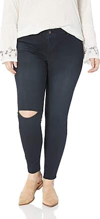 Jessica Simpson Womens Kiss Me Skinny Jeans, Eastvale/Razer Hem/Knee Slits, 18W