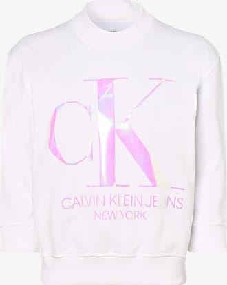 Calvin Klein Jeans Damen Sweatshirt weiss