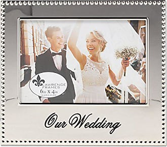 Lawrence Frames 4x6 Our Wedding Picture Frame