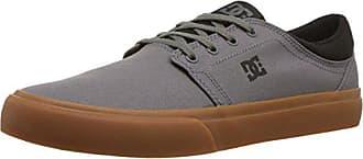 DC Mens Trase TX Skate Shoe, Dark Grey/Black, 5 D D US