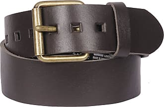 Leather Belts for Men in Brown − Now: Shop up to −51