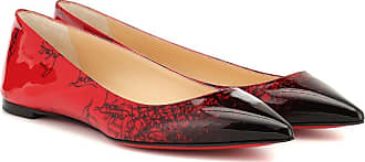 Christian Louboutin Exclusive to Mytheresa - Ballalla patent leather ballet flats