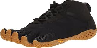 Vibram Fivefingers Mens V-Trek Low Rise Hiking Boots, Black/Gum 10/10.5 UK (45 EU)