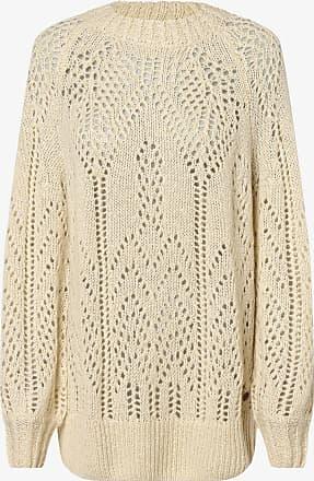 Pepe Jeans London Damen Pullover mit Alpaka-Anteil - Marzella weiss