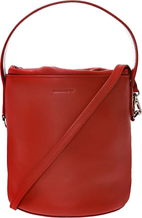 Jil Sander Branded Hand Bag Womens Red