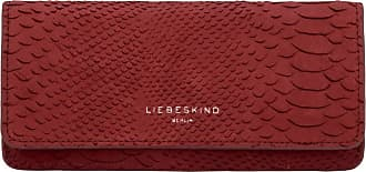 Liebeskind Womens Handcut Python SLG-Marina Wallet Large Billfold, Red (Red Wine), 4x11x19 Centimeters (B x H x T)