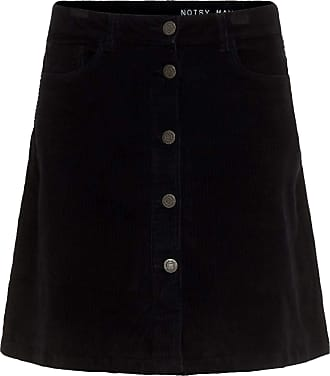 Noisy May Sunny Cord W Skirt Black